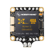 XRotor Micro 40A 2-5S 4 in 1 BLHeli_S DShot600 Ready FPV Racing Brushless ESC Support DShot/300/600(China)