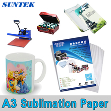 100-PCS A3 Size SUBLIMATION INK TRANSFER PAPER HEATPRESS FOR VIRTUOSO PRINTERS(China)