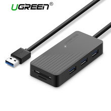 Ugreen All in 1 USB HUB with TF SD Card Reader High Speed Usb 3.0 2.0 Hub 3 Port Micro USB Power Interface for MacBook Laptop