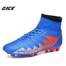 2017 Soccer Shoes Men Adults Turf Football Soccer Boots Outdoor Sports Sneakers Man TF Football Boots Soccer Cleat Shoes