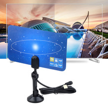 High Definition Gain 1PC UHF VHF Digital TV Antenna Receiving Digital Signals For HD TV HDTV DTV 1080p Indoor Outdoor