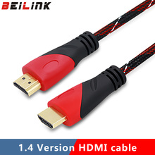 Slim High Speed HDMI Cable Gold Plated Connection with Ethernet 1080P digital cable,0.5m,1m,1.5m,2m,3m,5m,8m,10m,15m(China)