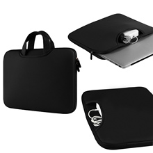 Portable Notebook Briefcase Handbag Sleeve Pouch Case Bag for Apple MacBook Pro Air Universal 11 / 13.3 / 15.4 inch Laptop PC