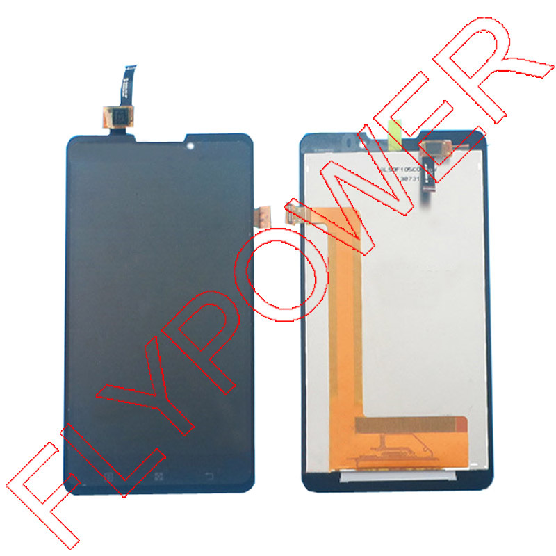 100% Guarantee For Lenovo S898t S898 Lcd Display Touch Screen Digitizer Assembly  black by free shipping<br>