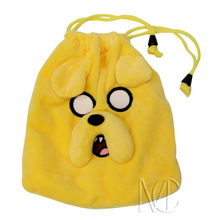 Anime/Cartoon Adventure Time JakeThe Dog Jewelry/Cell Phone Drawstring Pouch/Wedding Party Gift Bag (DRAPH_23)