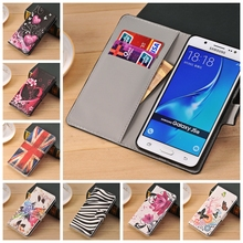 Leather Wallet Flip Case For Samsung Galaxy A3 A5 2017 J3 J2 Prime J5 2016 J7 S6 Edge S4 Mini S5 Neo S3 Grand Prime ACE 4 Neo