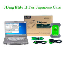 Best Quality JDiag Elite II WIFI With CF53 Laptop For Honda/Toyota/Nissan Professional J2534 Diagnostic & Reprogramming Tool