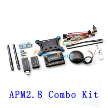 APM 2.8 ArduPilot Mega 2.8 Flight Controller + Power Module +  6M 6H GPS + Data Transmission+ Mini OSD + Shock Absorption Board