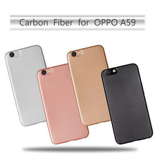 Capa For Oppo A59/F1S/Find 9/A39/A57/A37/Neo 9/A36 F1/A33 Neo 7 Cases Silicone Rubber Carbon Fiber Mobile Phone Cases A39 Fundas(China)