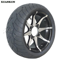 XUANKUN Beach Car Motorcycle Modified 235 / 30-12 205 / 30-12 Inch Aluminum Alloy Wheel Flat Tire