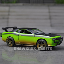 JADA FAST FURIOUS 1:32 DIECAST CAR MODEL TOYS DODGE CHALLENGER SRT8 VEHICLE REPLICA(China)