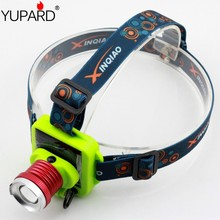 YUPARD Solar power Rechargeable Battery Head Torch Light 3 Modes Zoomable Q5 LED Headlight Headlamp for Camping Fishing