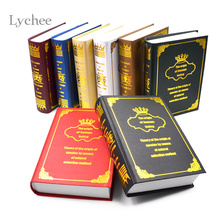 Lychee European Decorative Bookcase Books Simulation Decorative Fake Book Box Mold House Ornaments