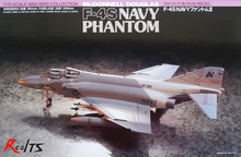 RealTS Tamiya model aircraft assembly navy 60733 1/72 F-4S Phantom fighter MD