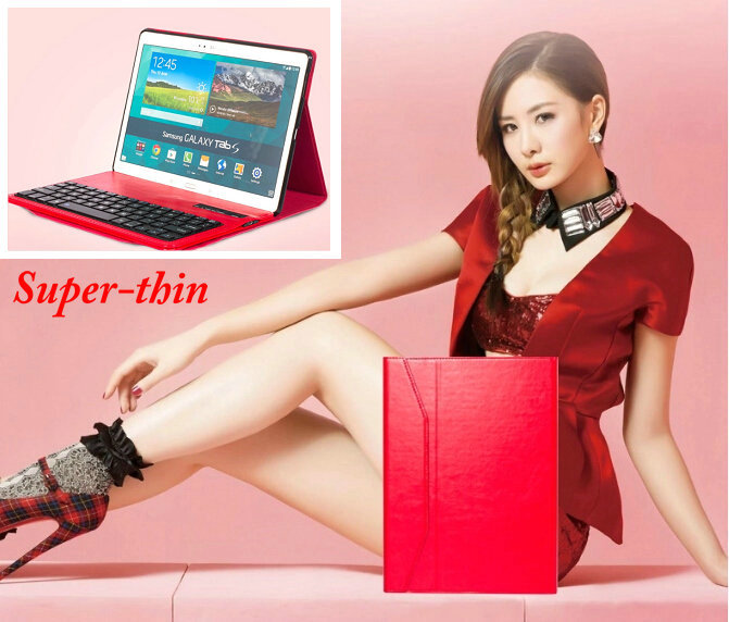 Top Quality Luxury 2 In 1 Superthin Wireless Bluetooth Keyboard Case With Stand Cover Case For Samsung Tab S 10.5 T800 T805C<br><br>Aliexpress