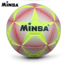 2017 MINSA High Quality Size 5 PU Soccer Ball Football Ball for Match Training Ball