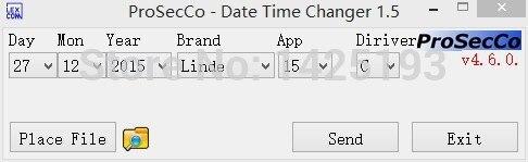 Linde/Jungheinrich/Still/Liebherr/Widos/Valtra/Clark - Date and Time Changer 2014v1.6<br><br>Aliexpress