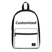 Fashion 2017 New Women Fashion Canvas Backpacks For Girls Boys Casual Prints Children Laptop Backpacks Book Bag Design For you