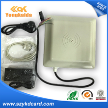 YongKaiDa Integrative long range 5m UHF RFID card reader 8dbi Antenna RS232/RS485/Wiegand of parking management system(China)