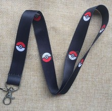 Lot 10Pcs Pikachu Pokemon Anime Mobile Cell Phone Lanyard Neck Straps Party Gifts S167