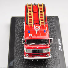 1/72 Scale Diecast Model car Alloy IFA W50 Vehicle Fire Truck Model Alloy Diecast Car Toys Vehicles For Children Toys Gifts