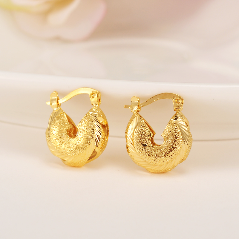 2pairs-Hot-sale-Fashion-Real-Vintage-Earring-For-Women-Classic-Earrings-new-Design-gold-filled-Jewelry (2)