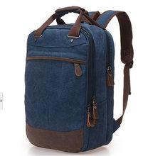 Men Backpack Casual Canvas shoulder bag School Bags For girls boys Large  Capacity Backpacks High Capacity 6d39ef85fd