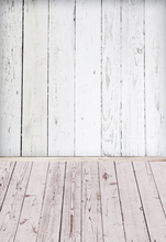 White and pink wood photography background photo backdrop for Newborn Baby Pet props XT-5109