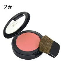 6 Color Women Blush Makeup Face Long Lasting Tolerance Cosmetics Powder Blush Powder With Mirror Makeup Brush