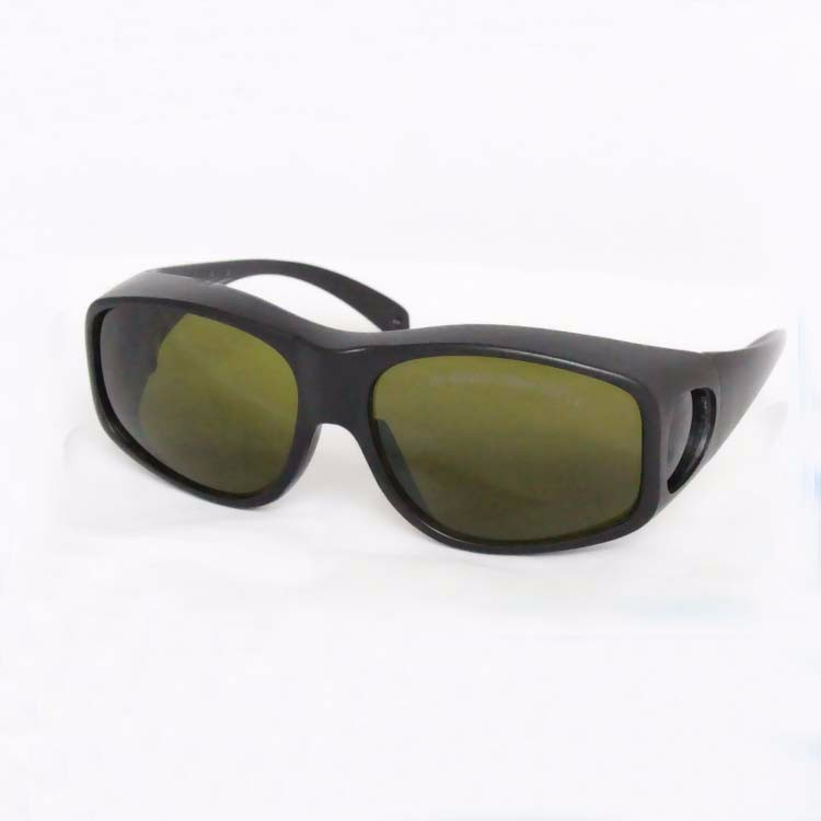 laser safety goggles for 190-450nm&amp;800-2000nm 266nm,405-450nm 808 980 1064nm  to 1610nm O.D 4+ CE<br>