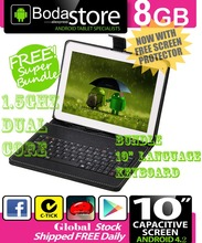 "10.2"" 8GB Boda GOOGLE ANDROID Jelly Bean 4.4  TABLET PC CAPACITIVE SCREEN E READER PAD TAB"