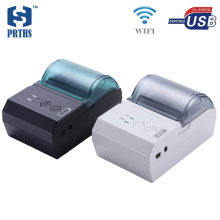 58mm portable WIFI printer USB mini thermal pos bill printer support unintermittent sticker label QR code printing for business