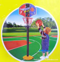 Hot Sale Outdoor Toys Children Mini Basketball Stands Match Tyre Pump Shoot Toys