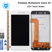 4.7inch For Prestigio Grace X5 PSP5470 Duo LCD Display +Touch Screen Original Screen Digitizer Assembly 1280X720 +Tools+Adhesive(China)