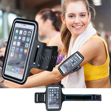 GYM Workout Sport Arm Band Leather Cover for iPhone 7 Plus Bag Fashion Arm Tie Run Riding Support Case for iPhone 6 6S Plus 5.5