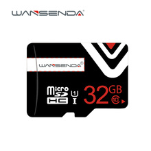 On sale WANSENDA 4GB 8GB 16GB 32GB micro sd card class 6 class10 Real capacity Memory Card TF card with free card adapter
