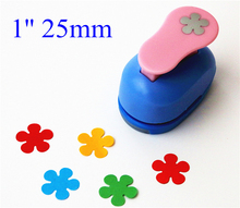 2.5cm Flowers punch diy craft hole punch eva foam puncher Kids scrapbook paper cutter scrapbooking punches Embossing
