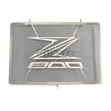 RG-KA003-BK Motorcycle Stainless Steel RADIATOR GUARD COVER Protector For KAWASAKI Z800 2013 2014 2015 2016 2017(China)