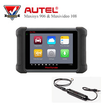 "Original Diagnostic Tool Autel MaxiSYS MS906 8"" Android 4.0 BT/WIF Automotive Diagnostic Scanner with MV105 Tool(China)"