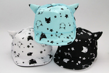 Toddler Baby Boys Girls Cat Ear Summer Cotton Sun Visor Baseball Beret Hat Cap