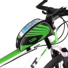 Buy B-SOUL Bike Front Bag Water Resistant Reflective Strip Cycling MTB Bicycle Road Bike Frame 5.5''Phone Bag Bicycle Accessories for $7.79 in AliExpress store