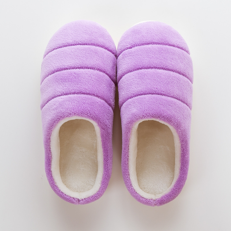 98b2d853f3d Christmas Warm Shoes Woman Winter Home Slippers Women Fleece Flip Flops Flat  Floor Shoes Indoor Slides Antiskid zapatos de mujer