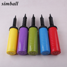 Air Pump Plastic Manual Inflating Pump Balloons Inflator Swimming Ring Blast Air Pump Party Festival Celebration Tools Supplies(China)