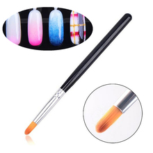 Nail Art Gradient Color Round Brush Pen Acrylic UV Gel Polish 3D Tips Effect Design Tools DIY Painting Drawing Manicure Pedicure(China)