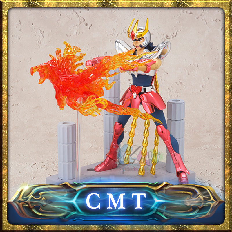 CMT BANDAI Tamashii D.D.PANORAMATION DDP Phoenix Ikki Saint Seiya pvc action figure with Scenes and effect 10cm tall<br>