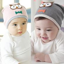 New Baby Boys Hat Girls Hat Cotton Blends Caps Newborn Infant Baby Hat Owl Print