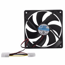 120MM Large Air Flow 4 Pin Interface Computer Fan Low Noise Silent DC 12V Chassis Fan CPU Cooling Fan Cooler