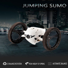 Hot 2016 Jumping Sumo Connected Toy Mini RC Car 2.4GHz Bounce Car With Flexible Wheels Remote Control Car
