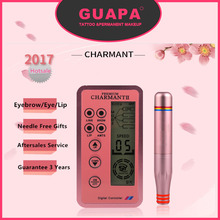 New Version Charmant Permanent Makeup Machine For Eyebrow Tattoo Lip Eyeliner Microblading MTS Pen Set Eye Makeup(China)