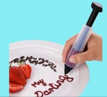 New cake decorating cutter tools Biscuit Pastry Icing Decoration Syringe Chocolate Plate Pen Tool Free shipping